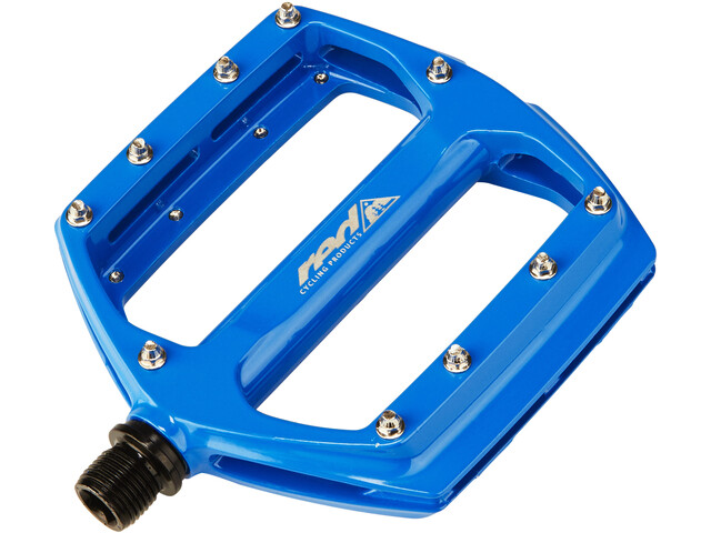 Red Cycling Products Flat Pedal AL blue